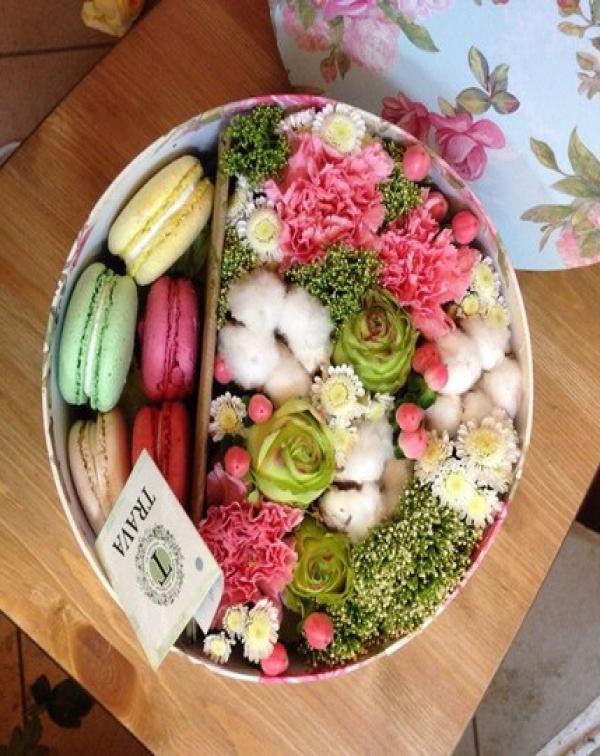 170 Коробочка со сладостями